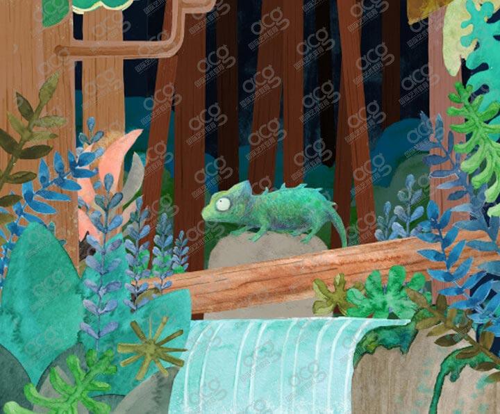 纽约视觉艺术学院-插画-本科-李林夕-ACG国际艺术教育
