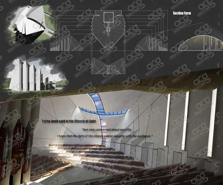 雪城大学-建筑设计-研究生-周广忻-ACG国际艺术教育