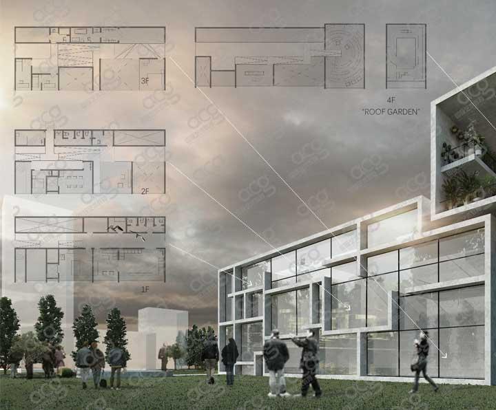墨尔本皇家理工大学-建筑设计-研究生-王若行-ACG国际艺术教育