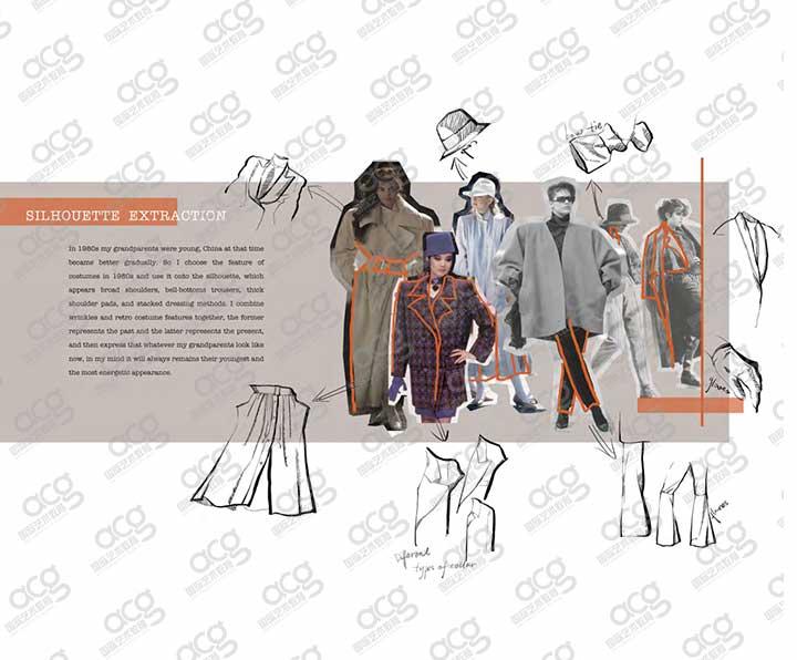 创意艺术大学-服装设计-研究生-毛初初-ACG国际艺术教育