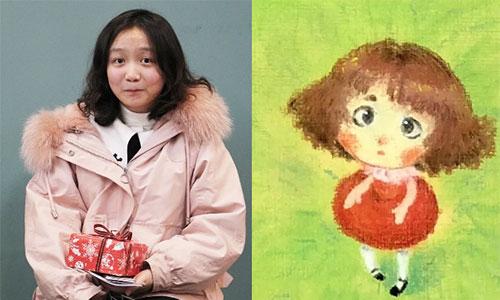 """案例分享:绘画零基础的她用""""可爱自画像""""征服SVA纽约视觉艺术学院"""
