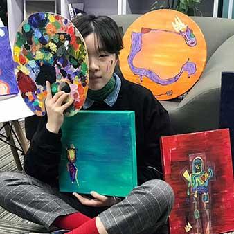 创意艺术大学-平面设计-本科-杨琀冰-ACG国际艺术教育