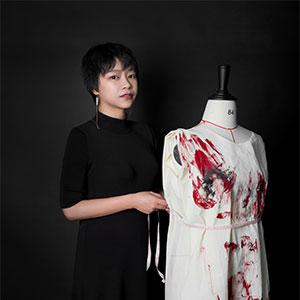 成都-许莎莎Sasha-服装-法国巴黎ESMOD服装学校