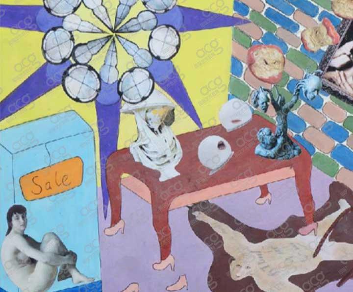 奖学金40000-加州艺术学院CCA-平面设计-本科-冯岱萌-ACG国际艺术教育