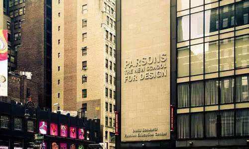 院校解析:帕森斯全美第一、世界第二的服装设计学院