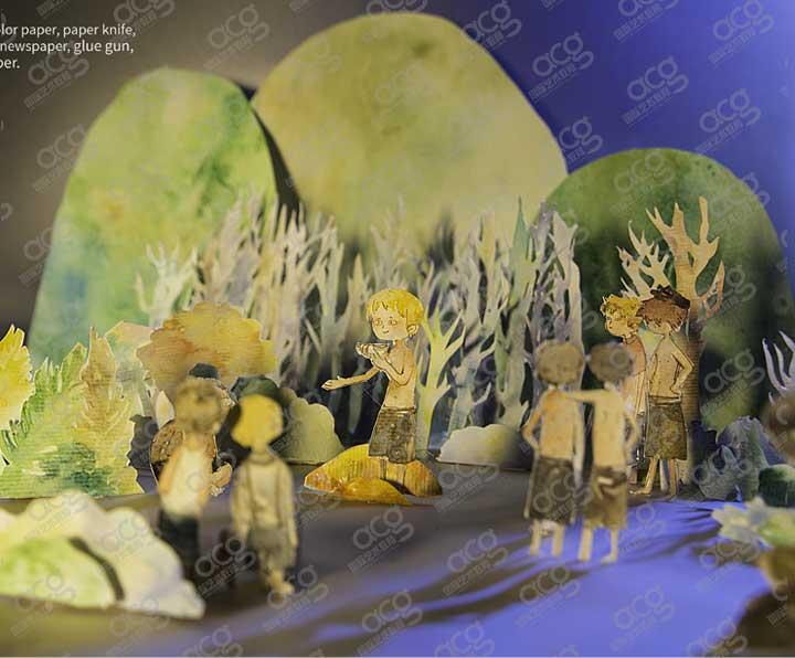 奖学金20000-纽约视觉艺术学院-插画-本科-梁沚珺-ACG国际艺术教育