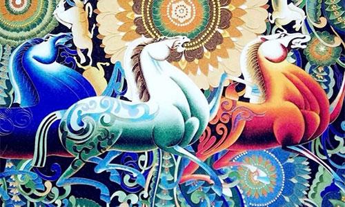 ART TIME:前世景泰蓝,今生掐丝画,一起来体验非遗艺术吧