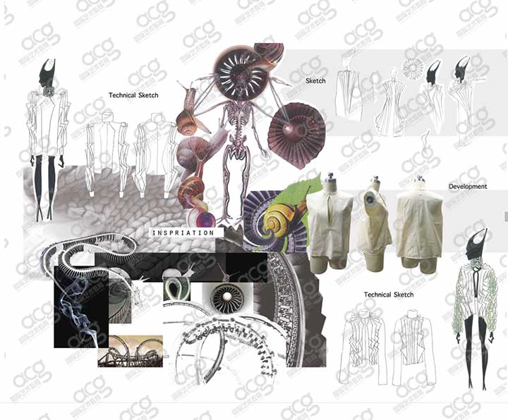 创意艺术大学-服装设计-本科-杜雨欣-ACG国际艺术教育