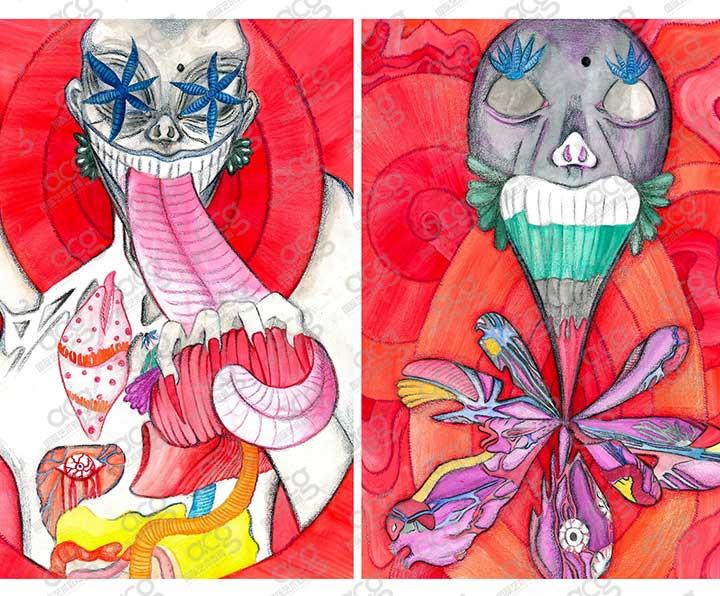 伦敦艺术大学-插画设计-本科-郭安逸-ACG国际艺术教育