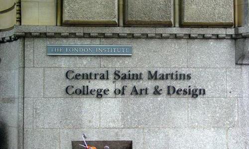 中央圣马丁艺术与设计学院艺术专业
