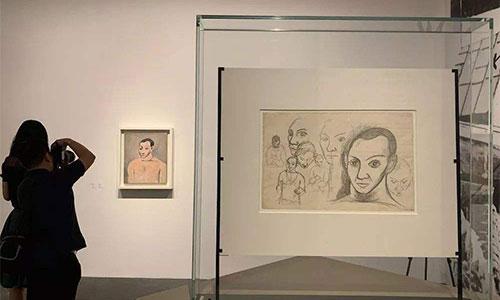 纯艺探索:71年7个不同时期的毕加索画展