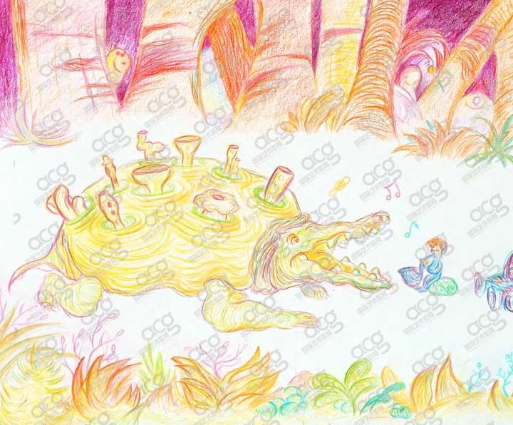 纽约视觉艺术学院-插画-本科-温家懿-ACG国际艺术教育
