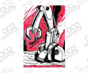上海校区-章子悦-插画-马萨诸塞大学UMASS-纽约视觉艺术学院SVA-本科