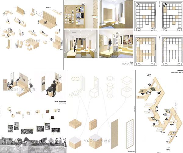 罗德岛设计学院室内设计作品集