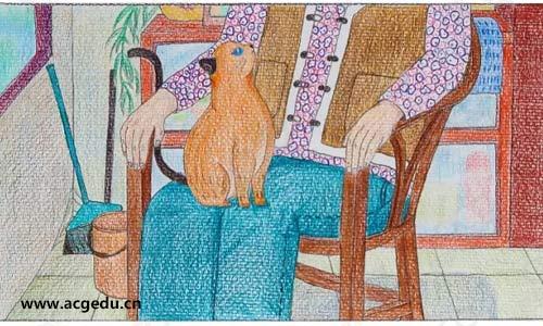 《老人与猫》