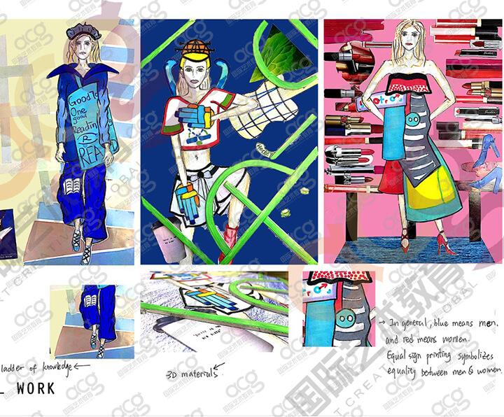 伦敦时装学院-服装设计-本科-王思唯-ACG国际艺术教育