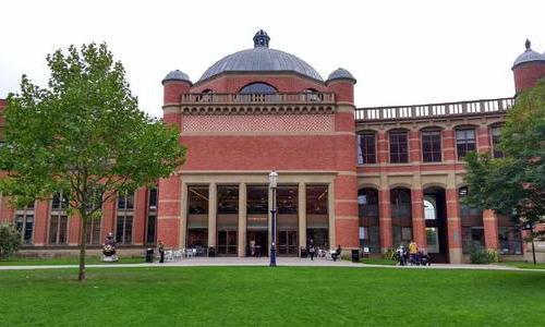 伯明翰城市大学专业设置