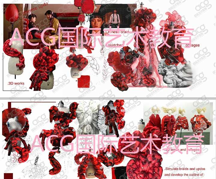 伦敦时装学院-服装设计-本科-厉一帆-ACG国际艺术教育
