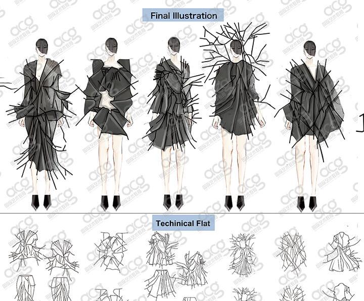 帕森斯设计学院-服装设计-本科-曹朱颖-ACG国际艺术教育