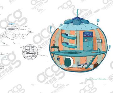 纯艺工作室- phoebe-动画设计-考文垂大学,利兹大学 Leeds-本科