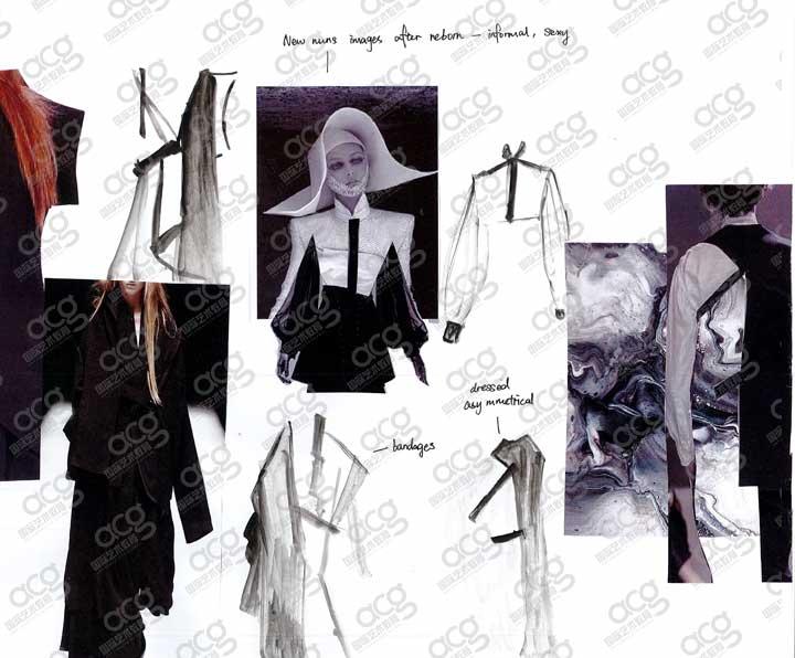 伦敦时装学院-服装设计-本科-李诗静-ACG国际艺术教育