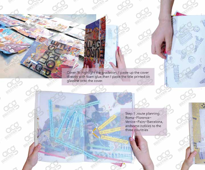 創意藝術大學-平面設計-本科-賈惠銘-ACG國際藝術教育