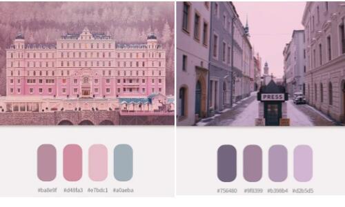 作品集配色:藝術設計類作品集配色方案
