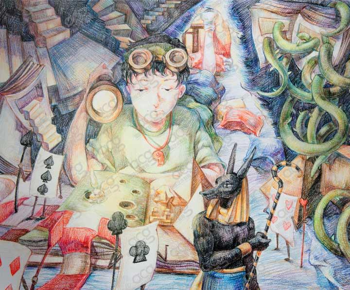 谢尔丹学院-插画-本科-钟恺瑶-ACG国际艺术教育