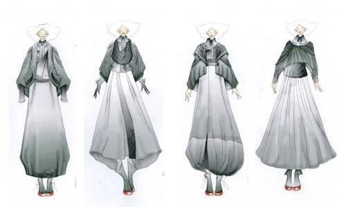 制作服装设计作品集具体详情