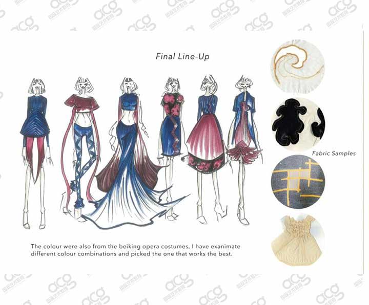 伦敦时装学院-服装设计-本科-刘昱利-ACG国际艺术教育