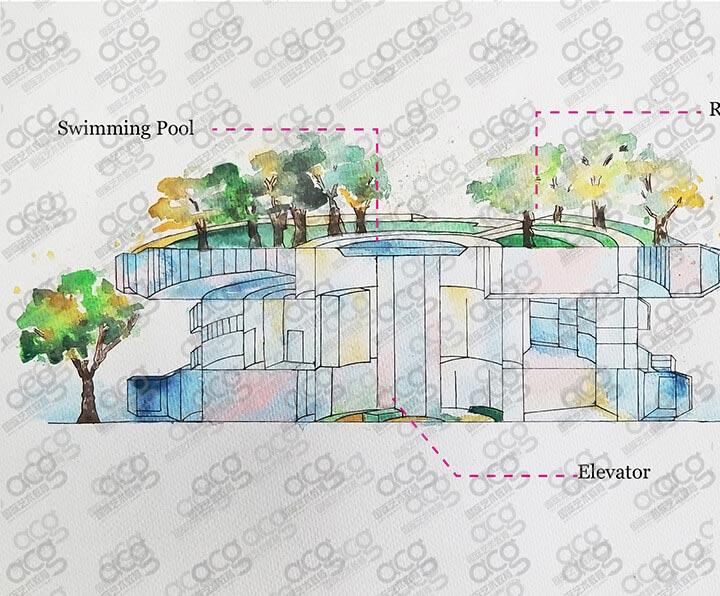 奖学金6000-萨凡纳艺术与设计学院-建筑设计-本科-丁嘉译-ACG国际艺术教育