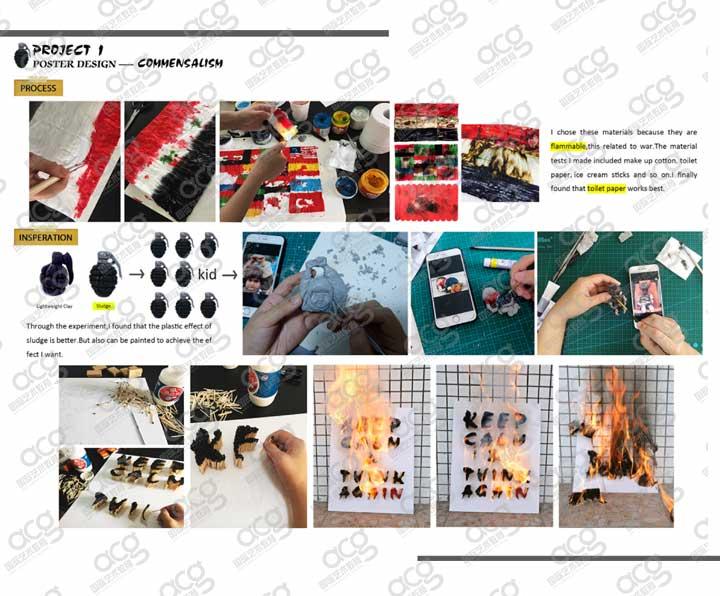 金斯顿大学-平面设计-研究生-牟奕锡-ACG国际艺术教育