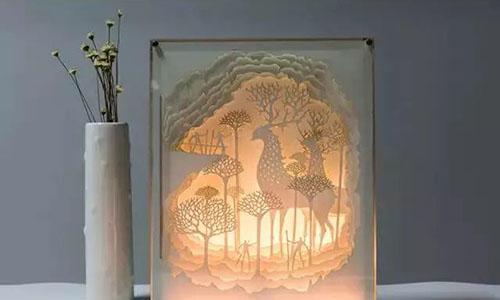 ART TIME丨纸雕灯DIY,带你走进光与影的童话故事!