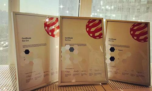 获奖喜讯:交互设计的田老师带着他的学生拿下了设计界的奥斯卡红点奖!