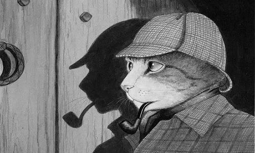 画家创作源泉的灵感缪斯:猫