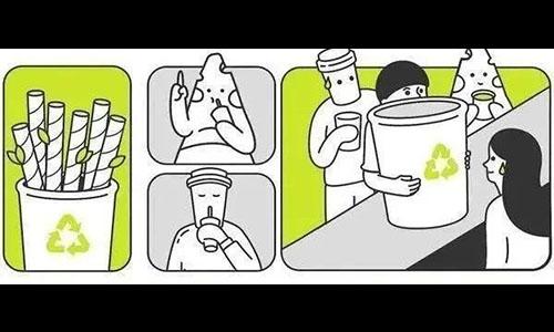 纸吸管设计太反人类?奶茶不香了?BUT,1个塑料吸管=500年降解